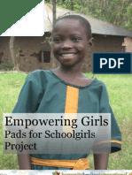 Pads for Schoolgirls Project