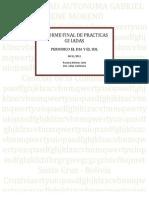como hacer un informe de prácticas