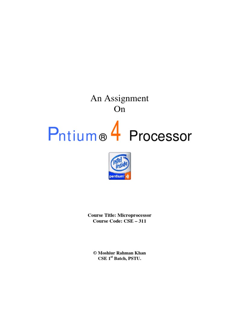 Pentium 3 Block Diagram Pdf Schematic Diagrams 4 Processor Cpu Cache Central Processing Unit Building Specification And Requirements Of
