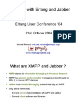 Messaging With Erlang and Jabber