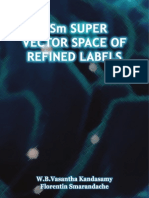DSm Super Vector Space of Refined Labels, by W. B. Vasantha Kandasamy, Florentin Smarandache