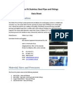 Chibro Press Fit Piping Data Sheet