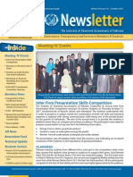 Newsletter Oct 2011