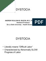 Ob - Dystocia