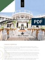 La Residence Hotel & Spa Hue - Wedding and Meeting Brochure