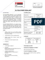 1 Part Polysulphide Sealant