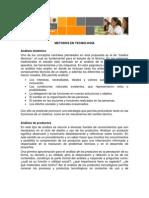 Métodos en tecnología(AnalisisSistemico)