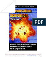 Entropy-Conversation Demolitions v1