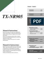 Commandes Groupées Fr TXSR905 Manual