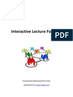 Interactive Lecture Strategies