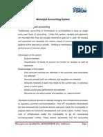 Municipal Accounting System-DV Rao