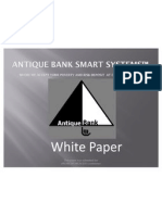 Antique Bank Smart Systems-Where We Accept Your Poverty and Risk Deposit at Opening Account -Mr.pradeep Gohil