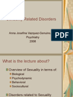 PSYCH - Sexuality Related Disorders