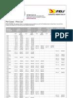 Peli Case Prices from 3D Flight Cases