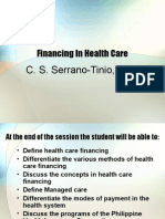 COMMED - Healthcare Financing 2008