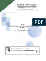 Blended Learning Untuk Menyiapkan Siswa Hidup Di Abad 21