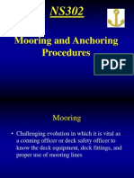 Mooring and Anchoring