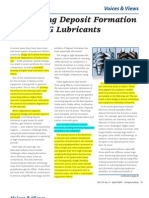 Controlling Deposit Formation Using PAG Lubricant