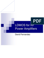 LDMOS for RF Power Amplifiers