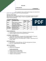 Resume of Sonal Singhvi1