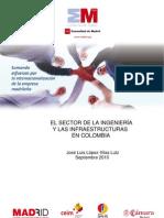 El sector de la ingeniería y las infraestructuras en Colombia