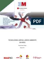 El sector de las tecnologías limpias y el medio ambiente en Peru