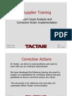 Supplier Training CA