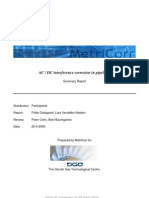 AC - DC Influenced Corrosion in Pipelines FAU GT Summary Report