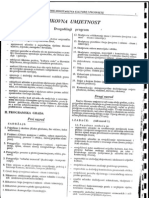 Plan i Program-likovni