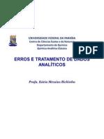 Química Analítica- Erros e Medições