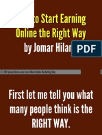 How to Earn Online Wrong and Right Ways by Jomar Hilario PDF