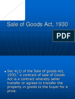 Sale of Goods Act, 1930 (2)