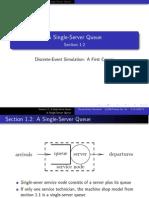 A Single-server Queue