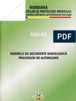 Norme de Securitate Radio Logic A in Radio Diagnostic