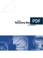 Recovery Manager Exchange 4.8 EvaluatorGuide (English)