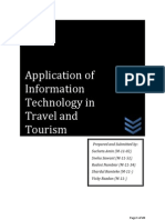 Application of Information Technology in Travel and Tourism