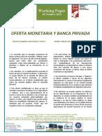 Oferta Monetaria y Banca Privada