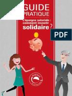 Guide Finansol sur l'épargne salariale solidaire