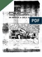Manual de Arranque, Carga y Transporte