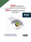Dari MRP Material Requirement Planning Menuju ERP Enterprise Resource Planning