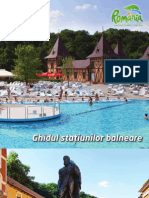 Ghidul Statiunilor Balneare Din Romania 2011 MDRT