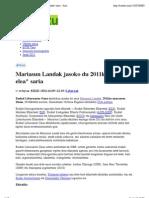 """Mariasun Landak Jasoko Du 2011ko """"Dabilen Elea"""" Saria - Sustatu.com_20111109"""