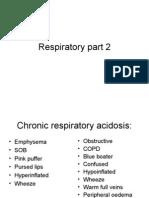 Respiratory part 2