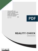 Sr Reality Check