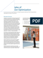 Three Principles of Transportation Optimization JDA White Paper