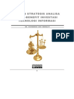 Kajian Strategis Analisa Cost-Benefit Investasi Teknologi Informasi