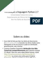 Introdução a Python