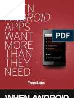 Trend Micro - When Android apps want more than they need