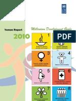 Yemen Millenium Goals Assessment 2010