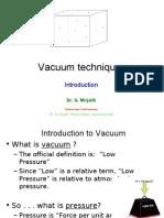 1 Vacuum 1introuduction
